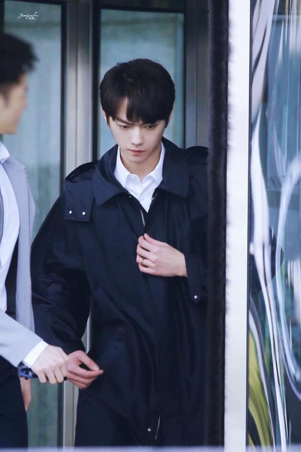 Hứa Khải lần đầu để tóc nấm như trai Hàn trên phim, trẻ đẹp thơm bơ nhưng fan sợ anh thành con Dương Mịch mất! - Ảnh 9.