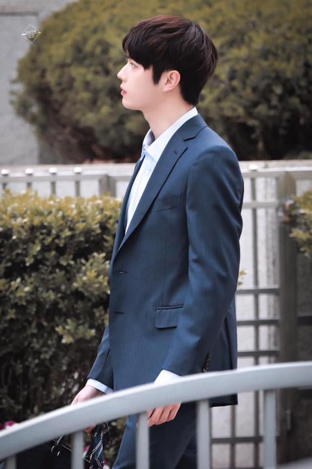 Hứa Khải lần đầu để tóc nấm như trai Hàn trên phim, trẻ đẹp thơm bơ nhưng fan sợ anh thành con Dương Mịch mất! - Ảnh 7.