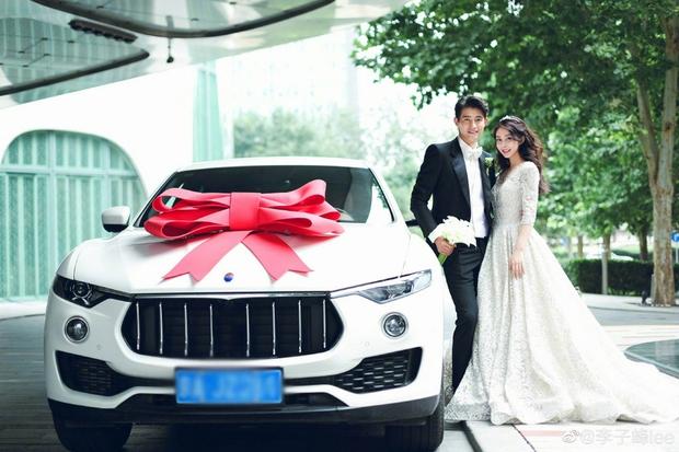 Đám cưới hot nhất Cbiz hôm nay: Dạ Hoa từng cắm sừng Trương Thiên Ái tổ chức hôn lễ sau 1 tháng cầu hôn bạn gái - Ảnh 10.