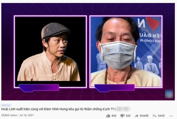 Rầm rộ clip NS Hoài Linh kêu gọi khán giả quyên góp chống dịch: 100 nghìn, 50 nghìn cũng được càng nhiều càng ít - Ảnh 3.