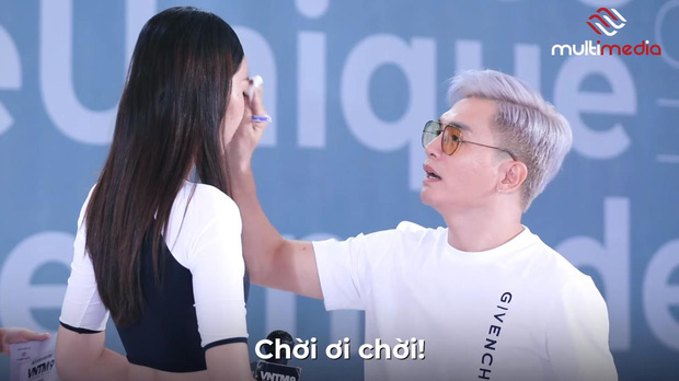 Những lần nhói đau của các cô gái khi bị GK Nam Trung bôi chân mày và tháo mi giả, make-up quan trọng đến vậy sao? - Ảnh 3.