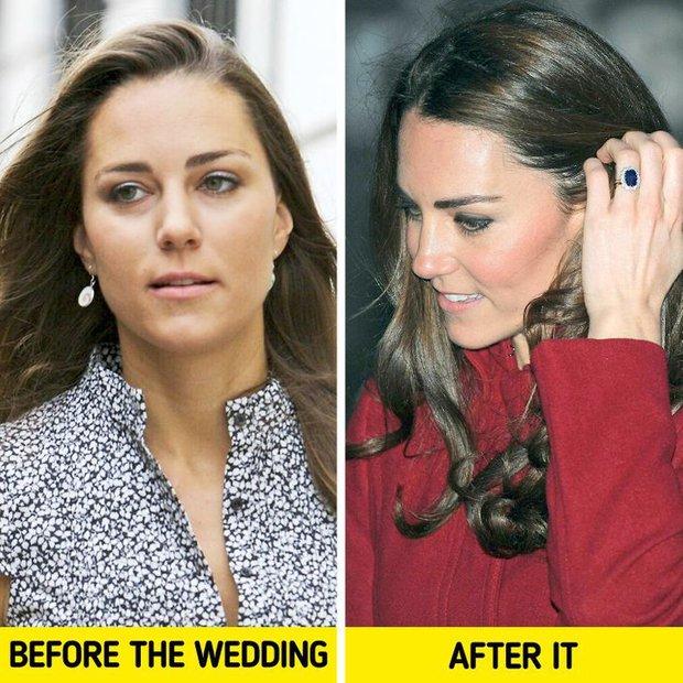 Luật làm dâu hoàng gia: Thành công nương là phải đổi hết thói quen làm đẹp, người lột xác nhất là Kate Middleton - Ảnh 2.