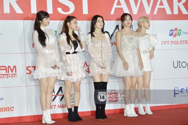 2 siêu thảm đỏ tầm cỡ châu lục ở Việt Nam hồi chưa Cô Vy: Yoona, Park Min Young, TWICE đổ bộ AAA, Wanna One và dàn sao náo loạn MAMA - Ảnh 15.