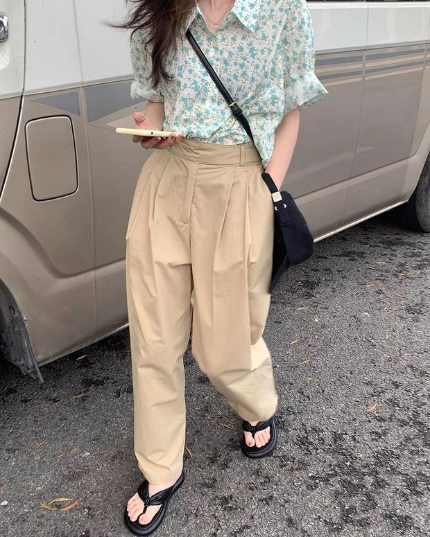 Ai muốn mua quần ống rộng chuẩn style Hàn thì nghía 5 em này, chiếc rẻ nhất chỉ 89k mà mặc mê lắm - Ảnh 5.