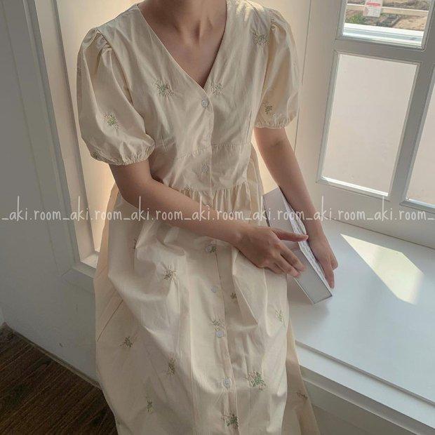 Tổng hợp váy tay bồng siêu iu lại không kén dáng, muốn mặc đẹp chưa bao giờ dễ đến thế - Ảnh 9.