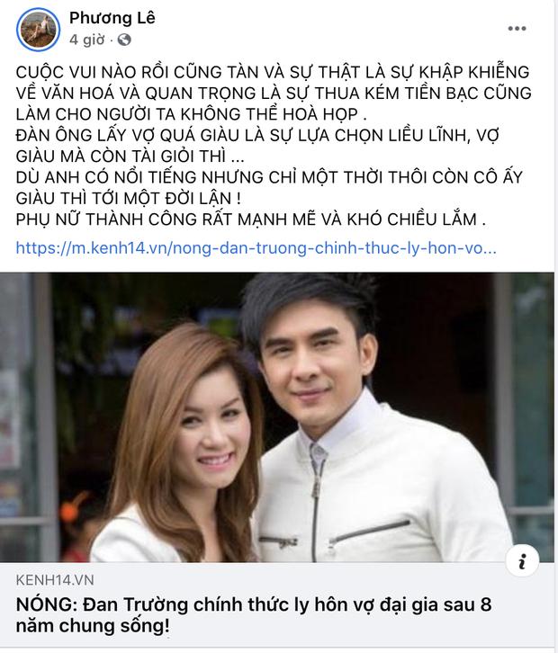 Hoa hậu ở nhà 200 tỷ bàn về chuyện ly hôn của Đan Trường, nói gì chuyện tiền bạc mà nhận gạch đá từ netizen? - Ảnh 2.