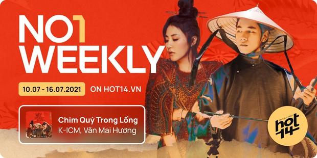 K-ICM và ca khúc viral của CARA bứt phá cạnh tranh trực tiếp với Sơn Tùng M-TP, Kay Trần cho No.1 HOT14 Weekly - Ảnh 21.