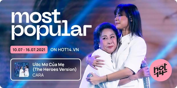 K-ICM và ca khúc viral của CARA bứt phá cạnh tranh trực tiếp với Sơn Tùng M-TP, Kay Trần cho No.1 HOT14 Weekly - Ảnh 6.