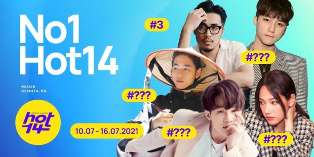 K-ICM và ca khúc viral của CARA bứt phá cạnh tranh trực tiếp với Sơn Tùng M-TP, Kay Trần cho No.1 HOT14 Weekly - Ảnh 2.
