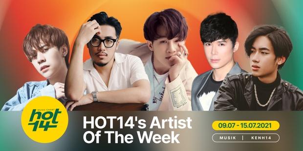 K-ICM lần đầu soán ngôi vương của Jack, Quang Hùng MasterD có thứ hạng bất ngờ trên BXH HOT14s Artist Of The Week - Ảnh 1.