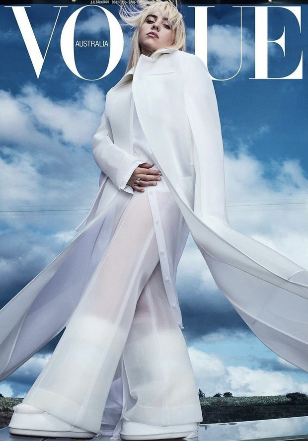 Billie Eilish diện đồ của 1 NTK Việt trên Vogue Úc - Ảnh 1.