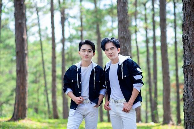 Đan Trường và Trung Quang thường xuyên mặc đồ đôi, trò cưng khẳng định nam ca sĩ là người thầy quan trọng nhất - Ảnh 3.