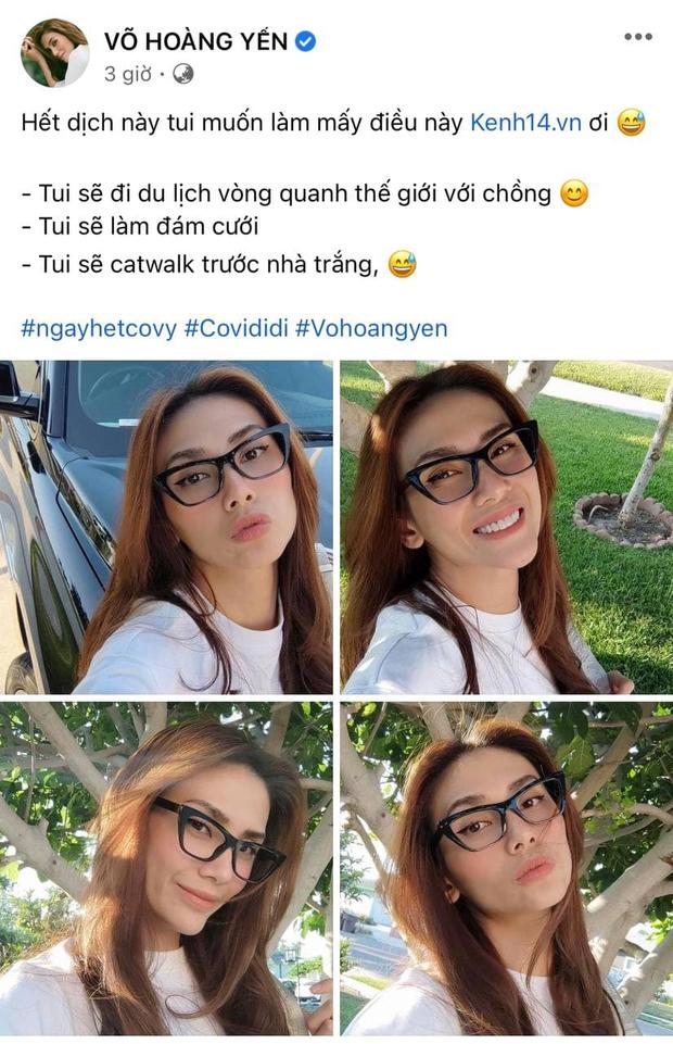 Dàn Hoa hậu, người mẫu sau dịch: Võ Hoàng Yến lấy chồng, Khánh Vân - Mâu Thủy - Hương Ly dự định gì? - Ảnh 1.