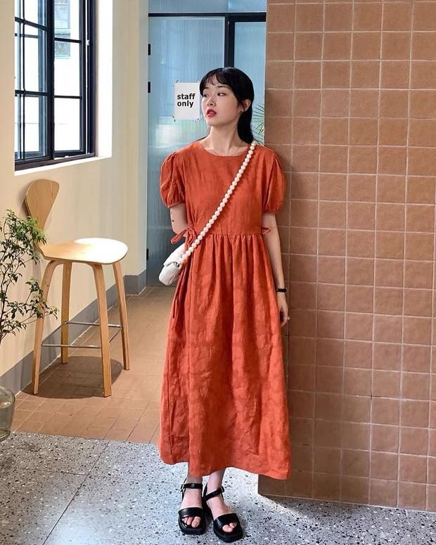 Tổng hợp váy tay bồng siêu iu lại không kén dáng, muốn mặc đẹp chưa bao giờ dễ đến thế - Ảnh 17.