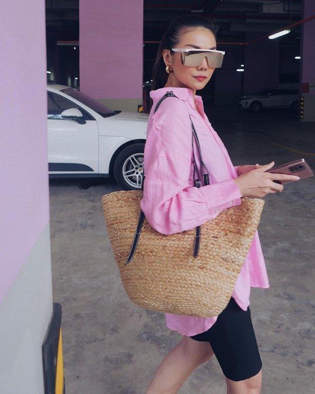 Instagram Look sao Việt tuần qua: Chi Pu lại táo bạo với bikini Barbie, Minh Tú khoe vòng 3 căng đét - Ảnh 7.