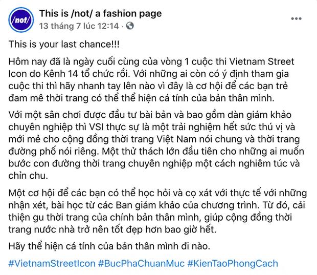 """Chưa đầy 24 giờ nữa để gửi bài dự thi và vote cho Vietnam Street Icon: Nhanh tay lên """"cả nhà iu"""", cơ hội thành KOL thế hệ mới đang chờ bạn đó! - Ảnh 6."""