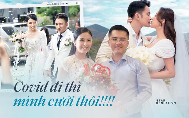 Ngày hết Cô vy, 5 couple Vbiz rộn ràng tổ chức tiệc cưới: Dàn khách mời của Phan Mạnh Quỳnh gây choáng, 1 đôi có luôn con đầu lòng! - Ảnh 2.