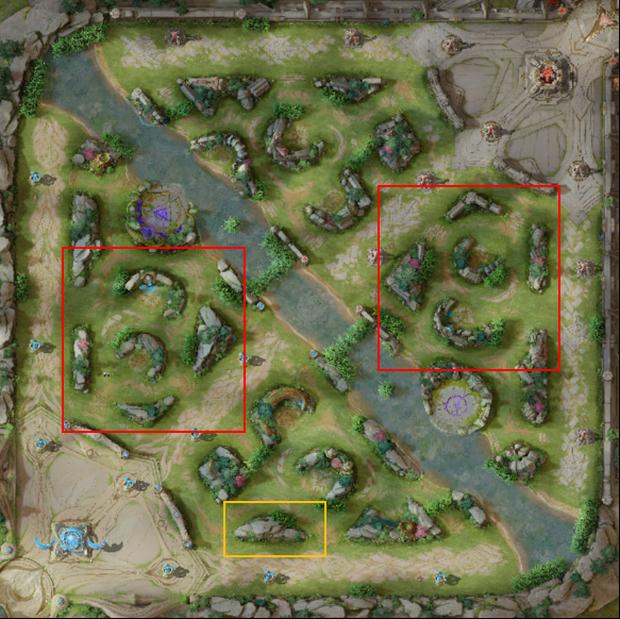 Liên Quân Mobile: Bản đồ mới Chiến trường 4.0 xuất hiện với đồ họa cực lạ, Rồng và Tà thần Caesar được thay đổi hoàn toàn - Ảnh 1.