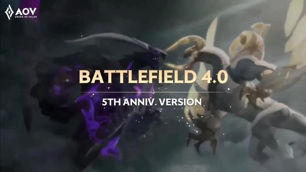 Liên Quân Mobile: Bản đồ mới Chiến trường 4.0 xuất hiện với đồ họa cực lạ, Rồng và Tà thần Caesar được thay đổi hoàn toàn - Ảnh 8.