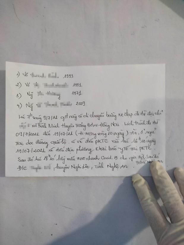 Thất nghiệp vì dịch COVID-19, 4 mẹ con đạp xe từ Đồng Nai về quê Nghệ An - Ảnh 2.