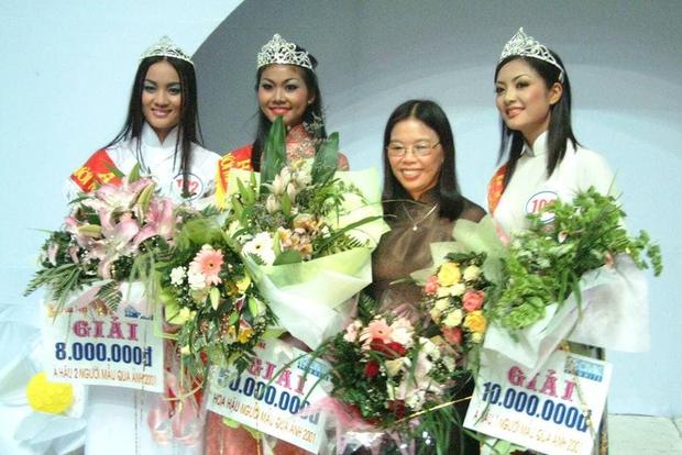 Thanh Hằng thời đăng quang Hoa hậu cách đây gần 20 năm so với hiện tại: Nhan sắc thăng hạng vượt bậc! - Ảnh 1.