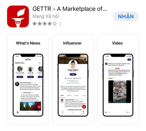 Ông Donald Trump chính thức giới thiệu mạng xã hội mới, đã có thể tải về trên App Store và Google Play - Ảnh 3.