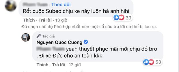 Cường Đô La xứng danh bố bỉm chịu chơi khi mua 1 lúc 2 xế hộp tặng Subeo và Suchin, đã vậy còn phải thuyết phục mới nhận - Ảnh 3.