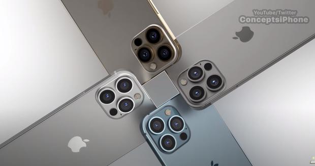 Lộ diện concept iPhone 13 Pro và iPhone 13 Pro Max đẹp mãn nhãn, cực sang xịn mịn - Ảnh 3.
