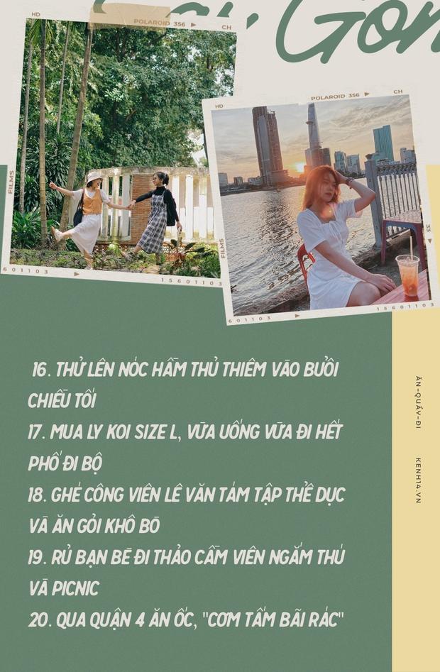 Sài Gòn: 30 điều nhất định PHẢI LÀM sau khi hết dịch, sẽ tuyệt hơn nếu được trải nghiệm cùng… người yêu! - Ảnh 16.