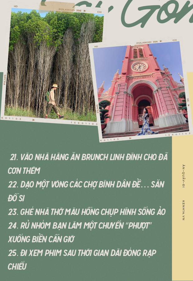 Sài Gòn: 30 điều nhất định PHẢI LÀM sau khi hết dịch, sẽ tuyệt hơn nếu được trải nghiệm cùng… người yêu! - Ảnh 21.