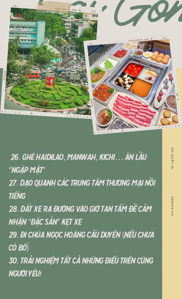 Sài Gòn: 30 điều nhất định PHẢI LÀM sau khi hết dịch, sẽ tuyệt hơn nếu được trải nghiệm cùng… người yêu! - Ảnh 25.