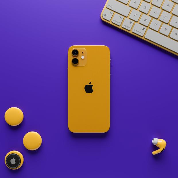 Ngắm loạt concept iPhone 13 với màu sắc nổi bật, nhìn là muốn chốt đơn ngay! - Ảnh 3.