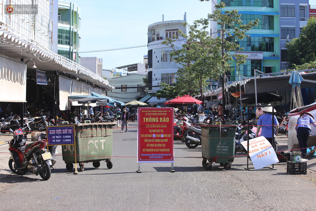3 mẹ con chủ nha khoa nhiễm SARS-CoV-2, Đà Nẵng tạm đóng cửa chợ Siêu thị, xét nghiệm toàn bộ tiểu thương - Ảnh 1.