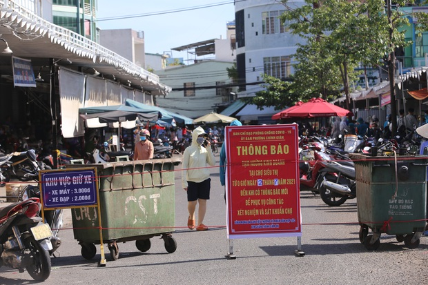 KHẨN: 3 mẹ con nhiễm SARS-CoV-2 chưa rõ nguồn lây nhiều lần đi chợ, siêu thị, Đà Nẵng tìm người liên quan - Ảnh 2.