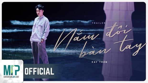 Chưa đến giờ công chiếu MV Nắm Đôi Bàn Tay, nhưng Kay Trần đã thu về một loạt thành tích khủng - Ảnh 1.