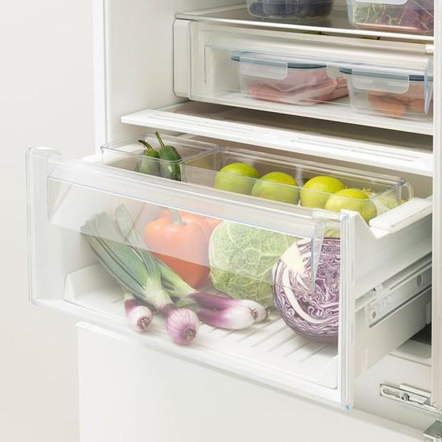6 mẹo giúp bạn xử đẹp chiếc tủ lạnh ngổn ngang thực phẩm, vừa dễ vừa khoa học không ngờ - Ảnh 4.