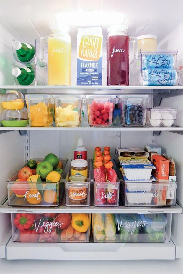 6 mẹo giúp bạn xử đẹp chiếc tủ lạnh ngổn ngang thực phẩm, vừa dễ vừa khoa học không ngờ - Ảnh 6.