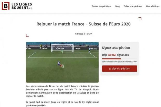 270.000 fan Pháp ký đơn đòi đá lại trận gặp Thụy Sĩ, truyền thông hốt hoảng yêu cầu CĐV đội nhà giữ bình tĩnh - Ảnh 1.