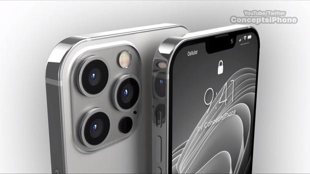 Lộ diện concept iPhone 13 Pro và iPhone 13 Pro Max đẹp mãn nhãn, cực sang xịn mịn - Ảnh 4.