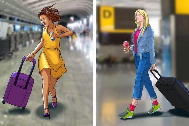 9 kiểu trang phục chúng ta không nên mặc khi lên máy bay, do chính tiếp viên hàng không chia sẻ - Ảnh 3.