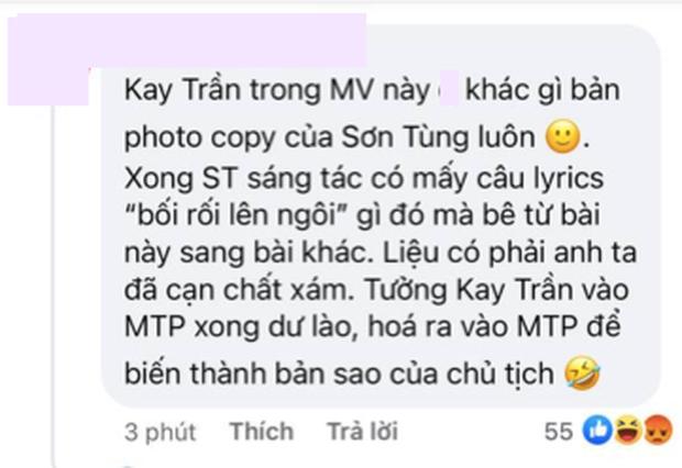 Netizen bình luận về MV đầu tiên của Kay Trần dưới trướng công ty M-TP: Đầu tư đấy nhưng chả khác gì bản photocopy của Sơn Tùng! - Ảnh 10.