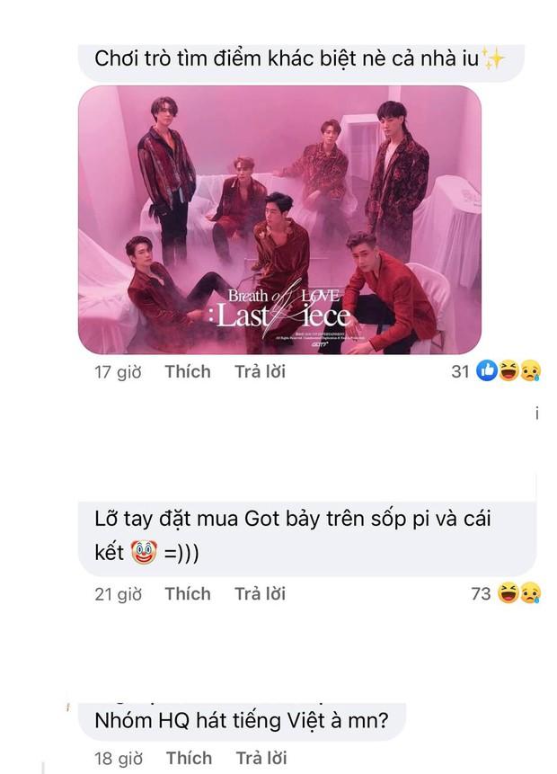 Bộ ảnh mới của nhóm nhạc Việt FOR7 lại quá giống GOT7, fan Kpop chán lắm rồi nhưng vẫn bình luận chỉ trích cho bõ tức! - Ảnh 7.