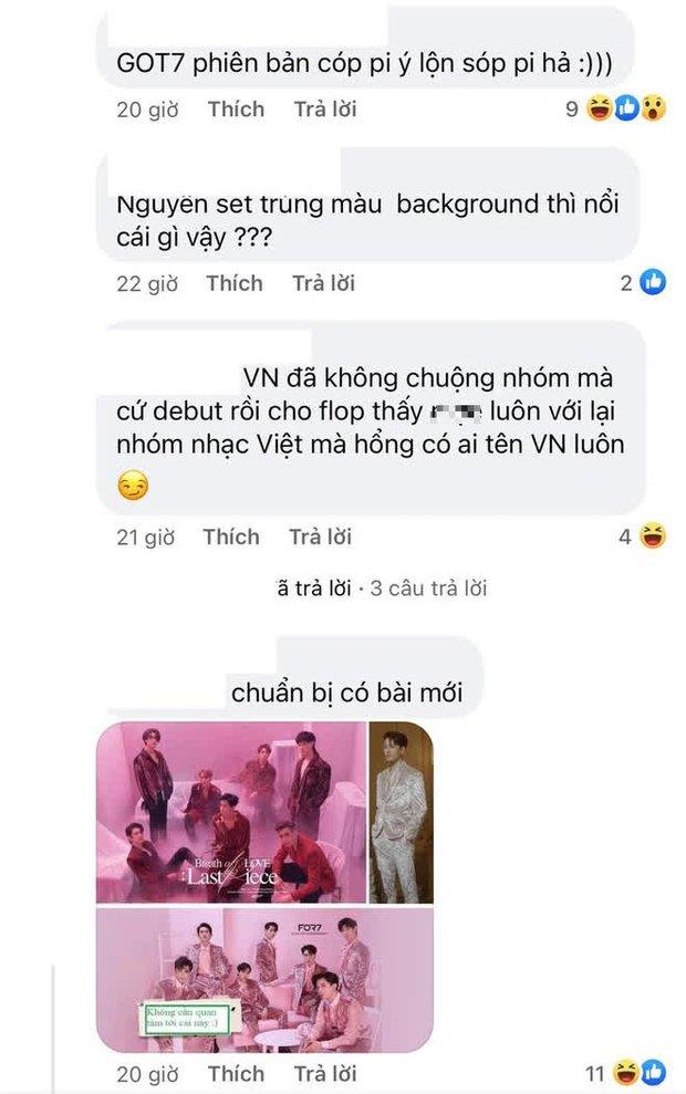 Bộ ảnh mới của nhóm nhạc Việt FOR7 lại quá giống GOT7, fan Kpop chán lắm rồi nhưng vẫn bình luận chỉ trích cho bõ tức! - Ảnh 6.