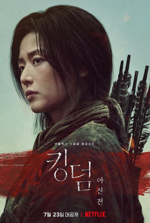 Xuống tóc sau tin đồn ly hôn, Jeon Ji Hyun vẫn đẹp nhức nách trong họp báo Kingdom: Ashin Of The North - Ảnh 5.