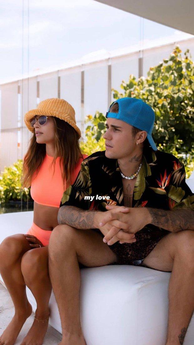 """Justin Bieber và Hailey sắp có em bé sau 2 năm kết hôn, """"hint"""" lồ lộ trong ảnh mới của 2 vợ chồng? - Ảnh 5."""