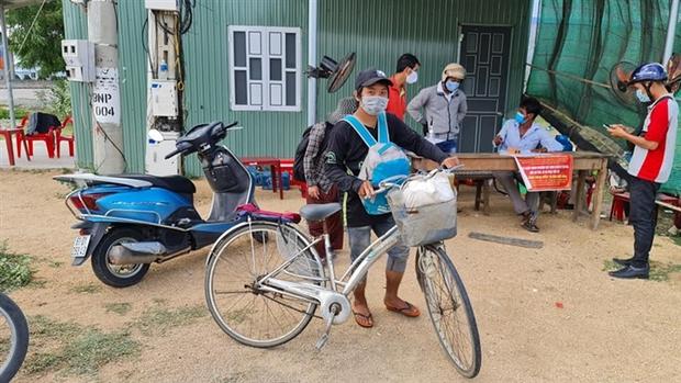 4 mẹ con đạp xe từ Đồng Nai về quê Nghệ An sau 4 tháng thất nghiệp: Em muốn nhường số tiền đó cho những người còn kẹt lại thành phố - Ảnh 2.