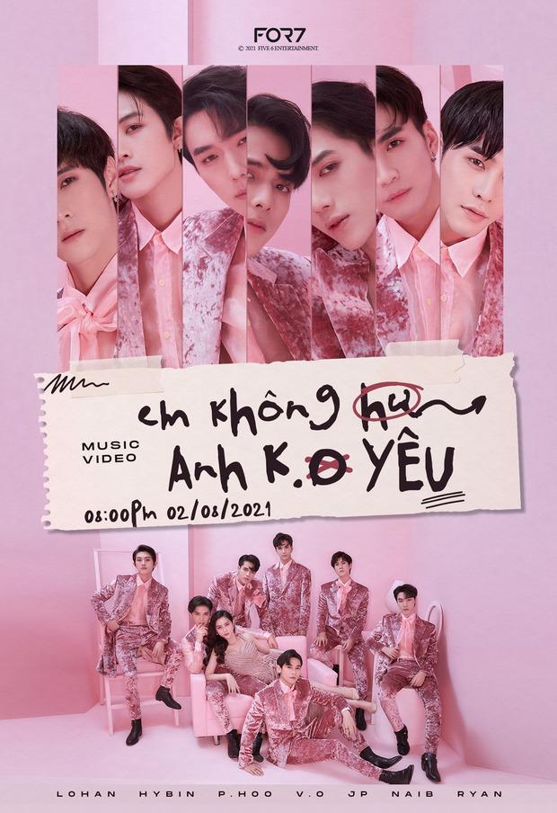 Bộ ảnh mới của nhóm nhạc Việt FOR7 lại quá giống GOT7, fan Kpop chán lắm rồi nhưng vẫn bình luận chỉ trích cho bõ tức! - Ảnh 1.