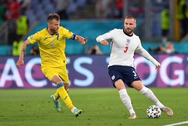 Tiết lộ gây choáng: Hậu vệ tuyển Anh đá tuyệt hay tại Euro 2020 dù bị gãy xương sườn, tổn thương cổ tay - Ảnh 2.