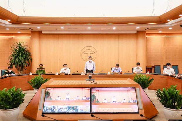 Chủ tịch Hà Nội: Thành phố xác định áp dụng các biện pháp mạnh nhất gần với Chỉ thị 16 - Ảnh 1.