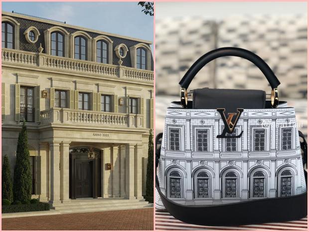 Đoàn Di Băng phát hiện Louis Vuitton nhái toà lâu đài 200 tỷ của Thái Công thiết kế cho mình, ngạc nhiên chưa? - Ảnh 3.